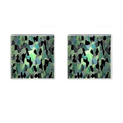 Wallpaper Background With Lighted Pattern Cufflinks (Square)