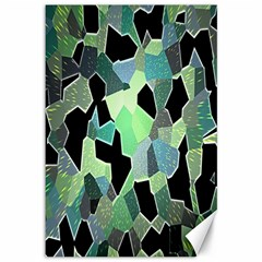 Wallpaper Background With Lighted Pattern Canvas 12  x 18