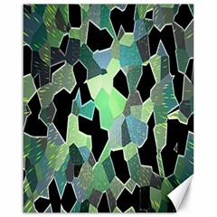 Wallpaper Background With Lighted Pattern Canvas 16  X 20