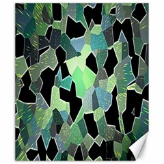 Wallpaper Background With Lighted Pattern Canvas 20  x 24