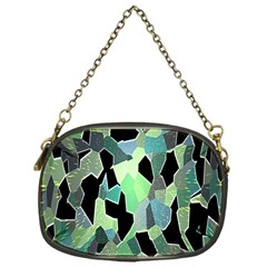 Wallpaper Background With Lighted Pattern Chain Purses (one Side)