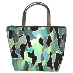 Wallpaper Background With Lighted Pattern Bucket Bags