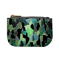 Wallpaper Background With Lighted Pattern Mini Coin Purses