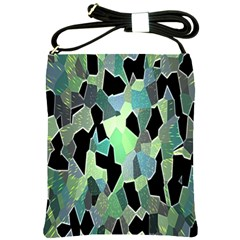 Wallpaper Background With Lighted Pattern Shoulder Sling Bags