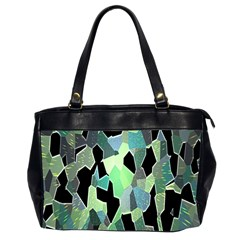 Wallpaper Background With Lighted Pattern Office Handbags (2 Sides)