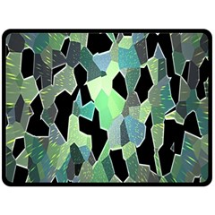 Wallpaper Background With Lighted Pattern Fleece Blanket (Large)