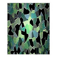 Wallpaper Background With Lighted Pattern Shower Curtain 60  X 72  (medium)
