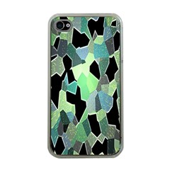 Wallpaper Background With Lighted Pattern Apple Iphone 4 Case (clear)