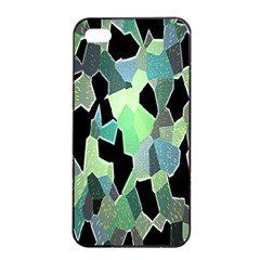 Wallpaper Background With Lighted Pattern Apple iPhone 4/4s Seamless Case (Black)
