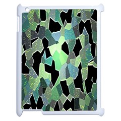 Wallpaper Background With Lighted Pattern Apple iPad 2 Case (White)