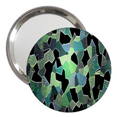 Wallpaper Background With Lighted Pattern 3  Handbag Mirrors