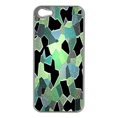 Wallpaper Background With Lighted Pattern Apple Iphone 5 Case (silver)