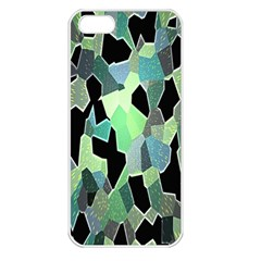 Wallpaper Background With Lighted Pattern Apple iPhone 5 Seamless Case (White)