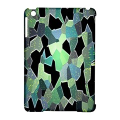 Wallpaper Background With Lighted Pattern Apple iPad Mini Hardshell Case (Compatible with Smart Cover)