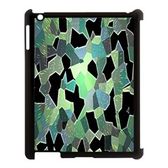 Wallpaper Background With Lighted Pattern Apple iPad 3/4 Case (Black)
