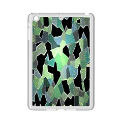 Wallpaper Background With Lighted Pattern Ipad Mini 2 Enamel Coated Cases