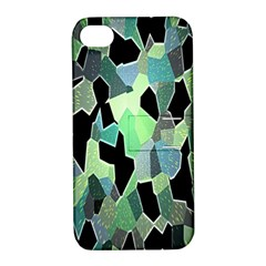 Wallpaper Background With Lighted Pattern Apple iPhone 4/4S Hardshell Case with Stand