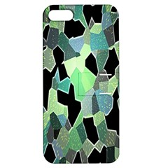 Wallpaper Background With Lighted Pattern Apple iPhone 5 Hardshell Case with Stand