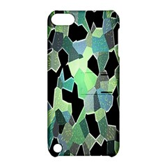 Wallpaper Background With Lighted Pattern Apple Ipod Touch 5 Hardshell Case With Stand