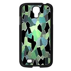 Wallpaper Background With Lighted Pattern Samsung Galaxy S4 I9500/ I9505 Case (Black)