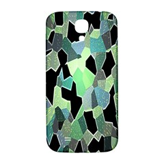 Wallpaper Background With Lighted Pattern Samsung Galaxy S4 I9500/I9505  Hardshell Back Case