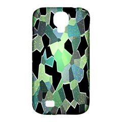 Wallpaper Background With Lighted Pattern Samsung Galaxy S4 Classic Hardshell Case (PC+Silicone)
