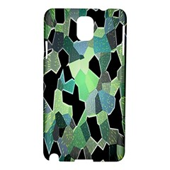 Wallpaper Background With Lighted Pattern Samsung Galaxy Note 3 N9005 Hardshell Case
