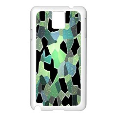 Wallpaper Background With Lighted Pattern Samsung Galaxy Note 3 N9005 Case (white)