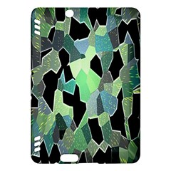 Wallpaper Background With Lighted Pattern Kindle Fire Hdx Hardshell Case
