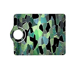 Wallpaper Background With Lighted Pattern Kindle Fire HD (2013) Flip 360 Case