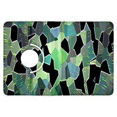 Wallpaper Background With Lighted Pattern Kindle Fire HDX Flip 360 Case