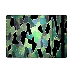 Wallpaper Background With Lighted Pattern Ipad Mini 2 Flip Cases