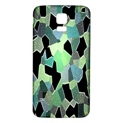 Wallpaper Background With Lighted Pattern Samsung Galaxy S5 Back Case (white)