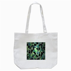 Wallpaper Background With Lighted Pattern Tote Bag (White)