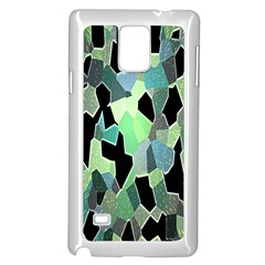 Wallpaper Background With Lighted Pattern Samsung Galaxy Note 4 Case (White)