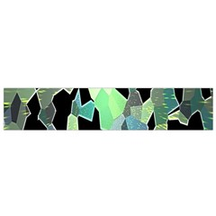 Wallpaper Background With Lighted Pattern Flano Scarf (Small)