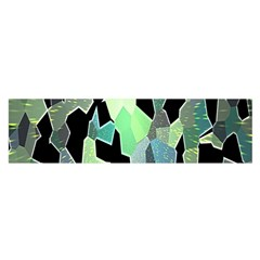Wallpaper Background With Lighted Pattern Satin Scarf (oblong)