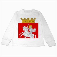 Lesser Coat of Arms of Georgia Kids Long Sleeve T-Shirts