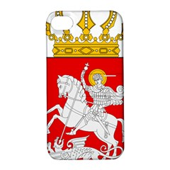 Lesser Coat of Arms of Georgia Apple iPhone 4/4S Hardshell Case with Stand