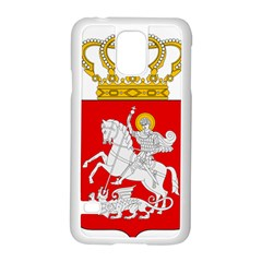Lesser Coat of Arms of Georgia Samsung Galaxy S5 Case (White)