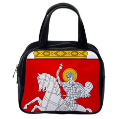 Lesser Coat of Arms of Georgia Classic Handbags (One Side)