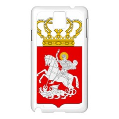 Lesser Coat of Arms of Georgia Samsung Galaxy Note 3 N9005 Case (White)