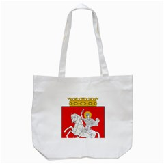 Lesser Coat of Arms of Georgia Tote Bag (White)