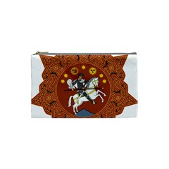 Coat of Arms of The Democratic Republic of Georgia (1918-1921, 1990-2004) Cosmetic Bag (Small)