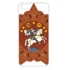 Coat of Arms of The Democratic Republic of Georgia (1918-1921, 1990-2004) Apple iPhone 5 Seamless Case (White)