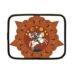 Coat of Arms of Republic of Georgia (1918-1921, 1990-2004) Netbook Case (Small)