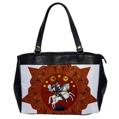 Coat of Arms of Republic of Georgia (1918-1921, 1990-2004) Office Handbags