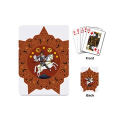 Coat of Arms of Republic of Georgia (1918-1921, 1990-2004) Playing Cards (Mini)