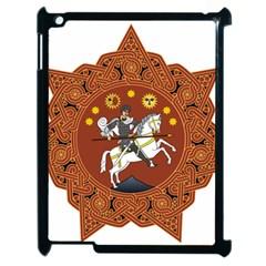 Coat of Arms of Republic of Georgia (1918-1921, 1990-2004) Apple iPad 2 Case (Black)