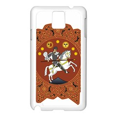 Coat of Arms of Republic of Georgia (1918-1921, 1990-2004) Samsung Galaxy Note 3 N9005 Case (White)